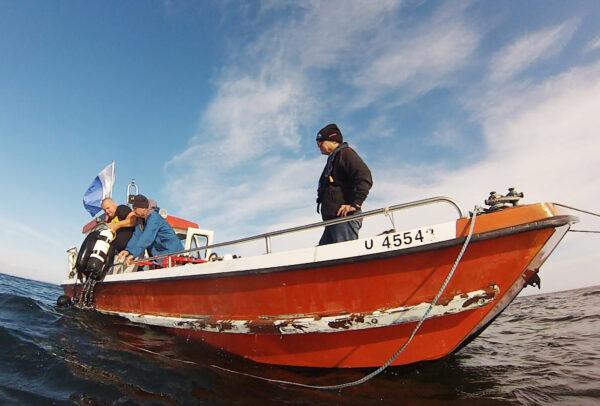 Veneretki Riihimäen Urheillusukeltajat merisukellus